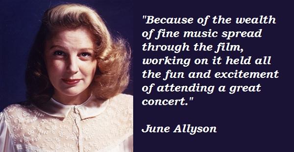 June Allyson's quote #2