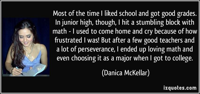 Junior High quote #2