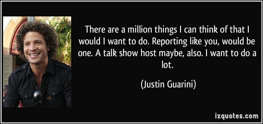 Justin Guarini's quote #5