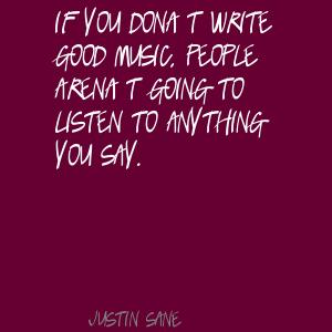 Justin Sane's quote #2