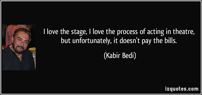 Kabir Bedi's quote #1