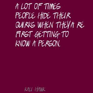 Kali Hawk's quote #2