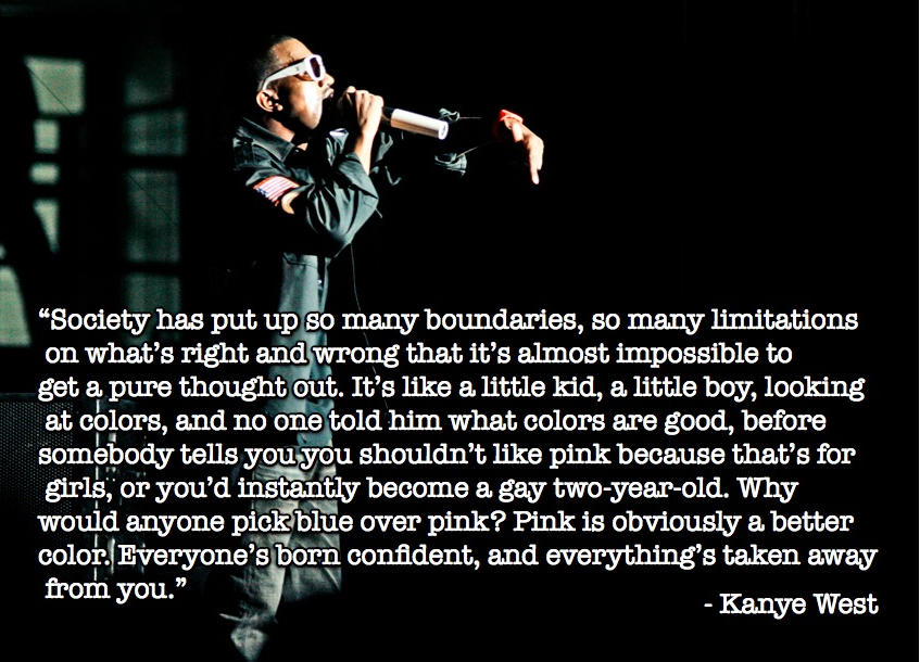 Kanye West's quote #1