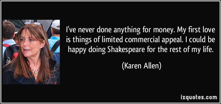 Karen Allen's quote #4
