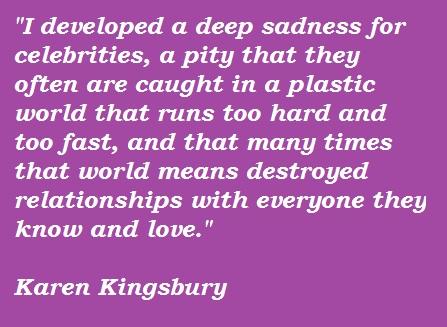 Karen Kingsbury's quote #6