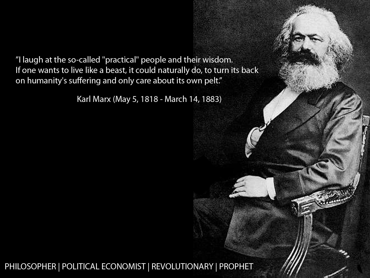 Karl Marx's quote #1
