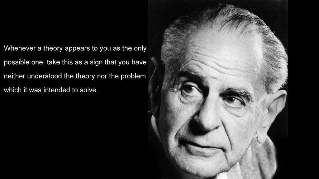Karl Popper's quote #4
