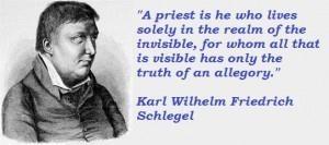 Karl Wilhelm Friedrich Schlegel's quote #4