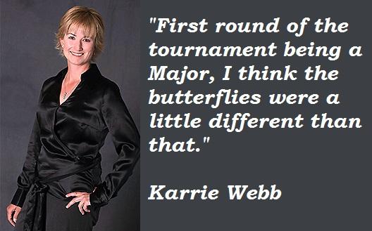 Karrie Webb's quote #3