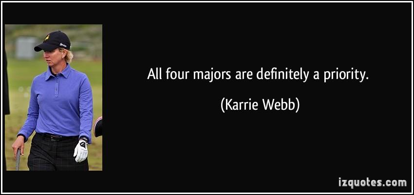 Karrie Webb's quote #6