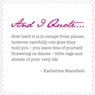 Katherine Mansfield's quote #2