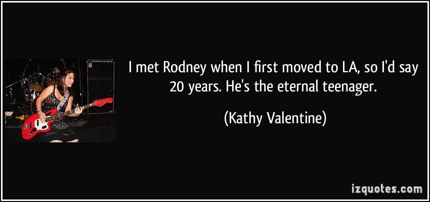 Kathy Valentine's quote #4