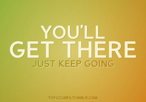 Keep Going quote #1
