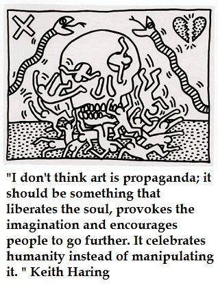 Keith Haring's quote #4