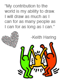 Keith Haring's quote #2