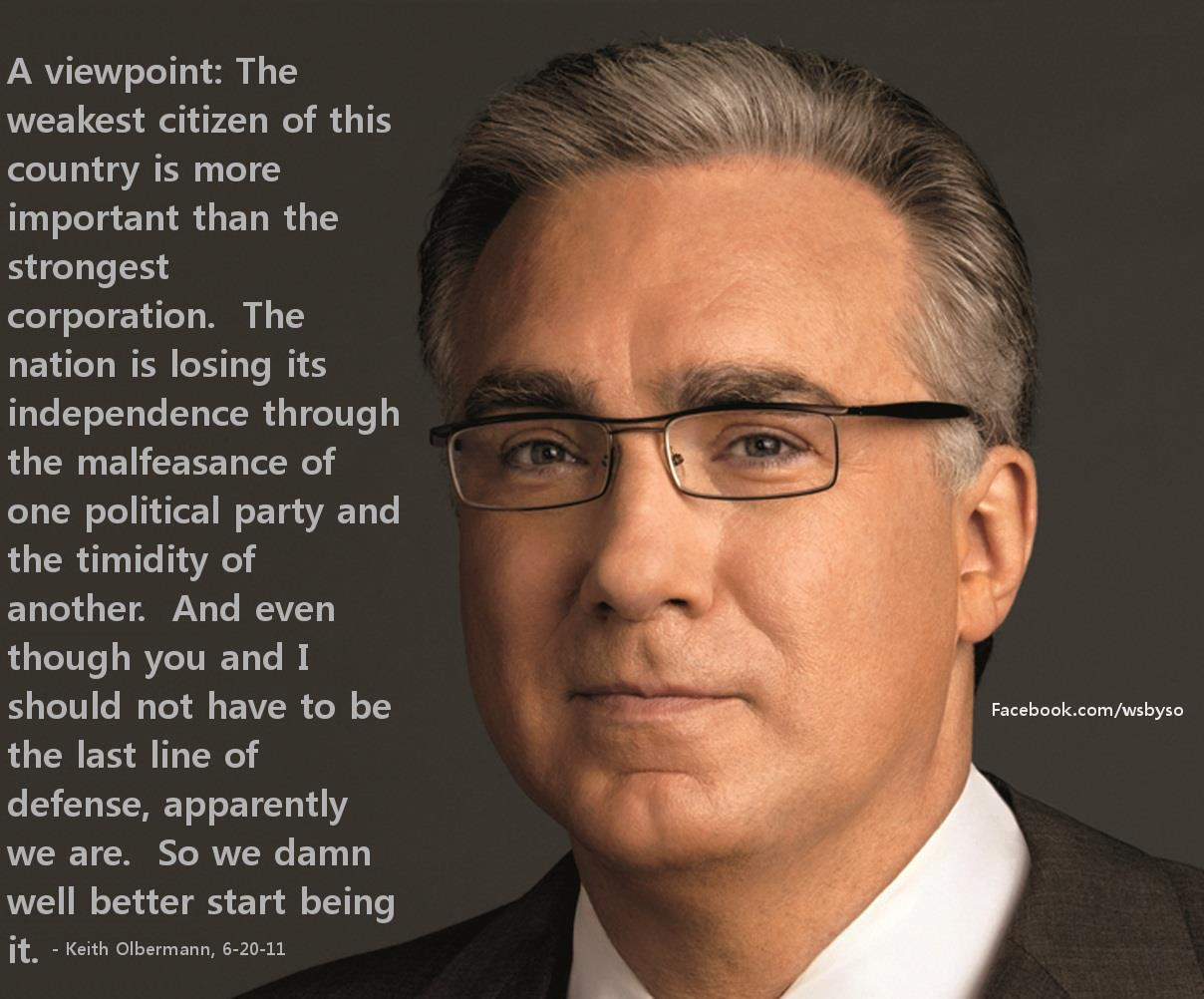 Keith Olbermann's quote #8