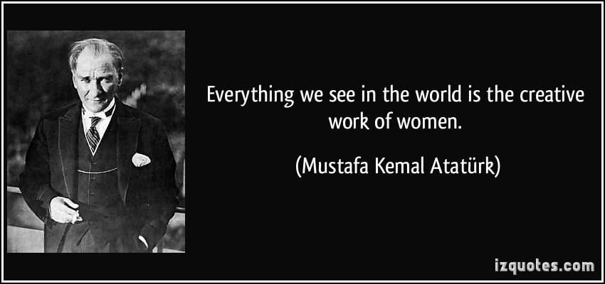 Kemal Ataturk's quote #6