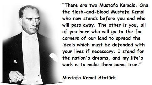 Kemal Ataturk's quote #3