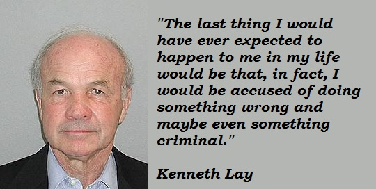 Kenneth Lay's quote #3