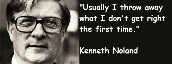 Kenneth Noland's quote #5