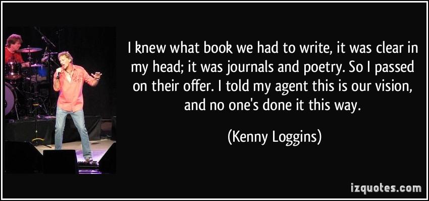 Kenny Loggins's quote #4