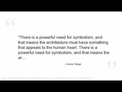 Kenzo Tange's quote #4