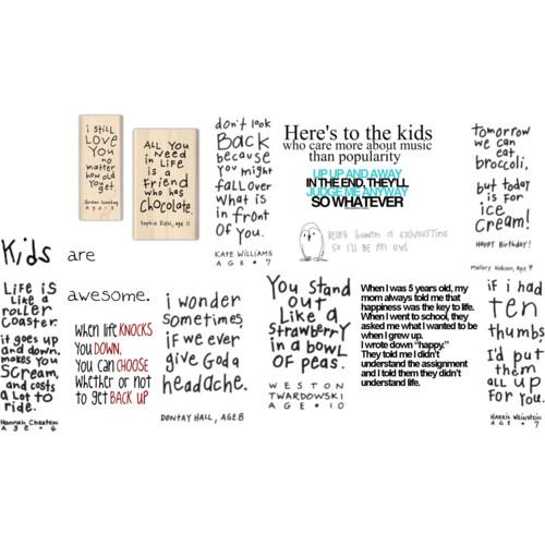 Kid quote #7