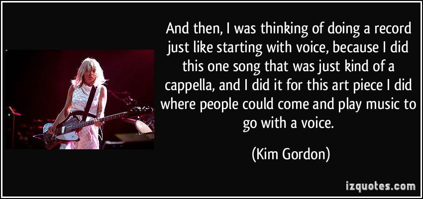 Kim Gordon's quote #5