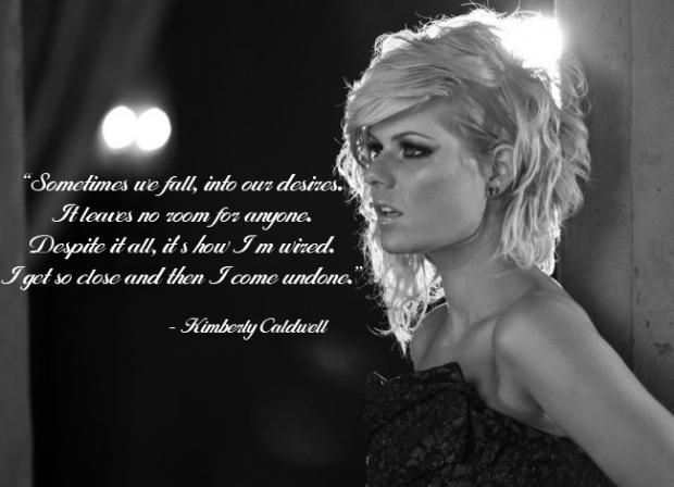 Kimberly Caldwell's quote #5