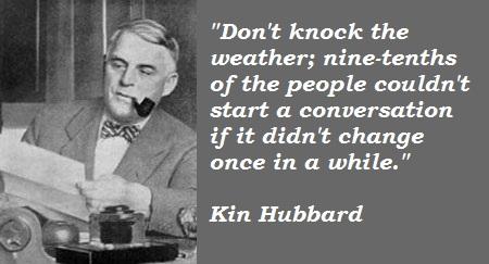 Kin Hubbard's quote #5