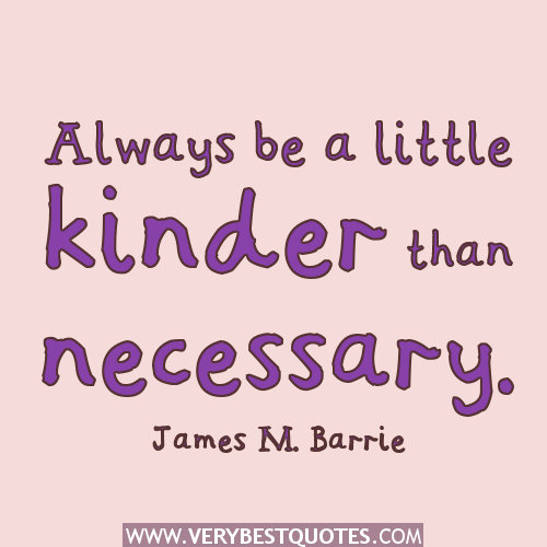 Kinder quote #1