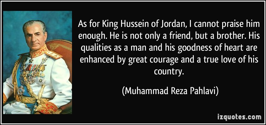 King Hussein I's quote #3