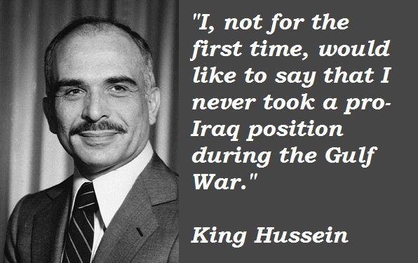 King Hussein's quote #3