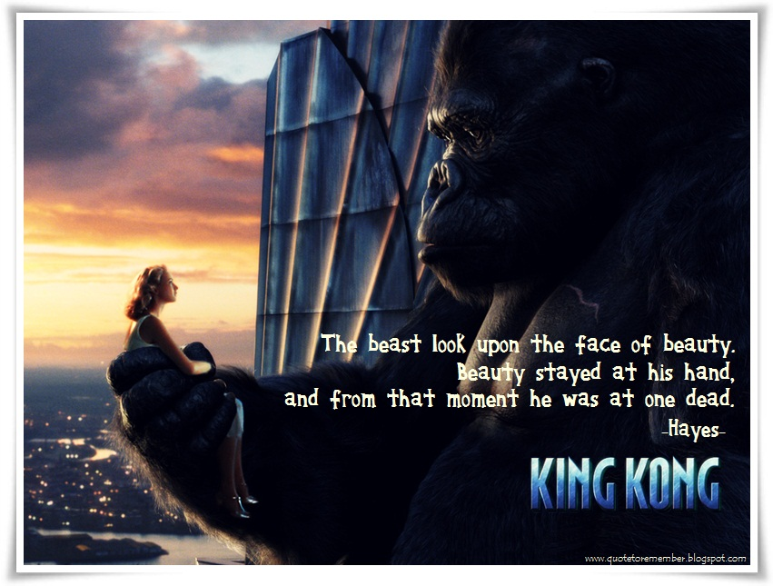 King Kong quote #1