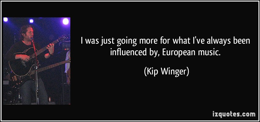 Kip Winger's quote #2