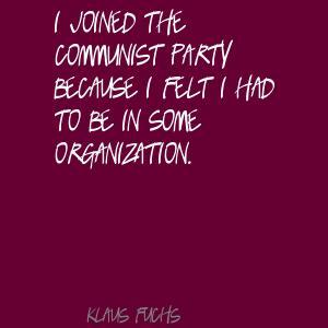 Klaus Fuchs's quote #8