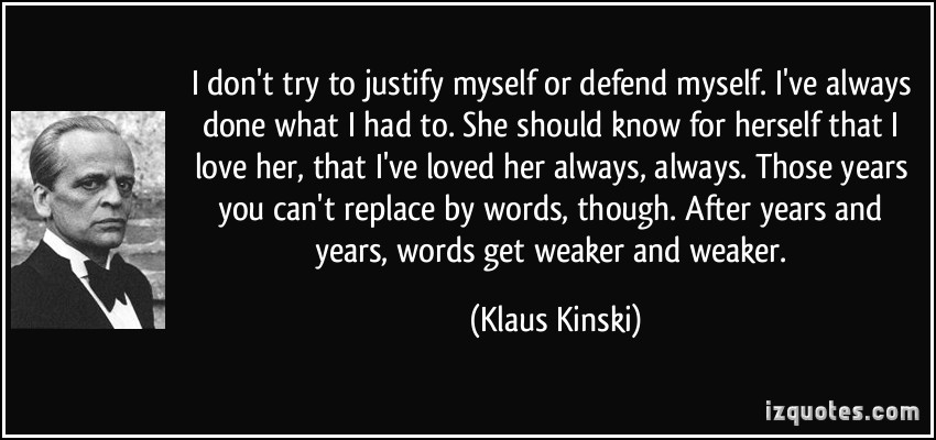 Klaus Kinski's quote #6