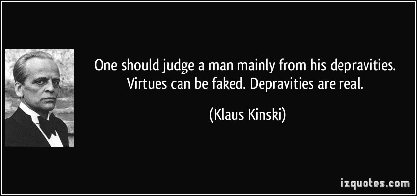 Klaus Kinski's quote #4