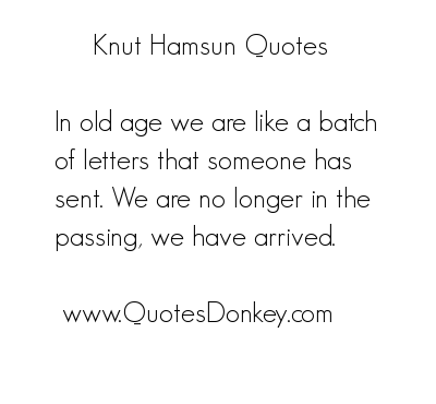 Knut Hamsun's quote #5