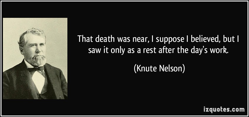 Knute Nelson's quote #7