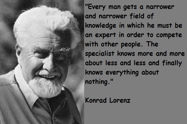 Konrad Lorenz's quote #7