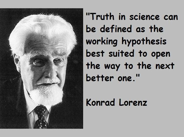 Konrad Lorenz's quote