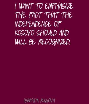 Kosovo quote #2