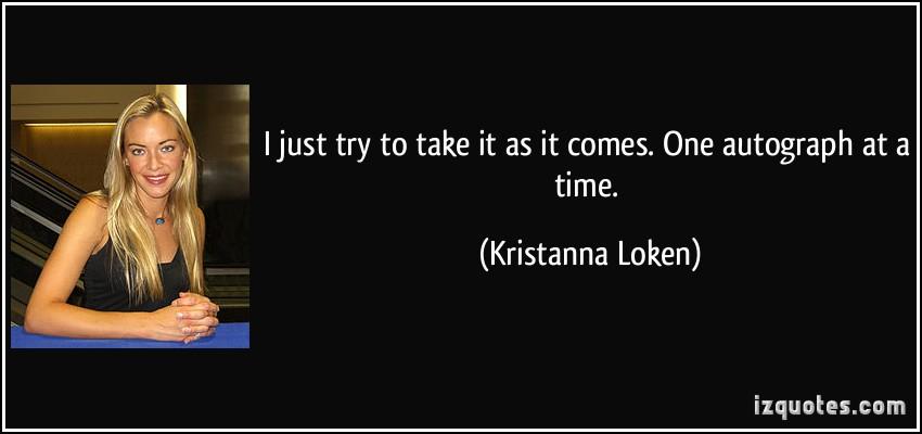 Kristanna Loken's quote #4