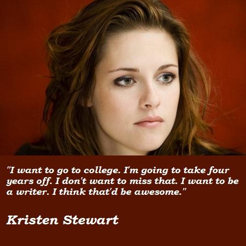 Kristen Stewart's quote #4