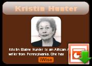 Kristin Hunter's quote #1