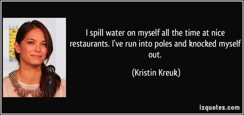 Kristin Kreuk's quote #3
