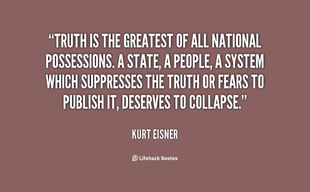 Kurt Eisner's quote