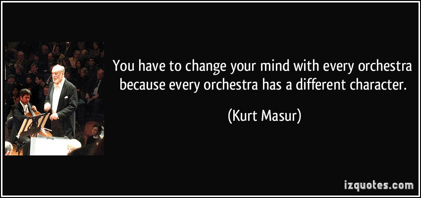 Kurt Masur's quote #3