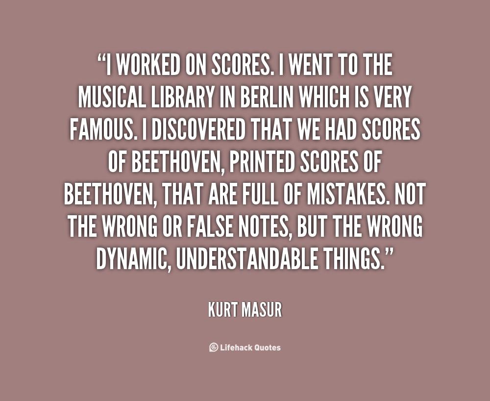 Kurt Masur's quote #2